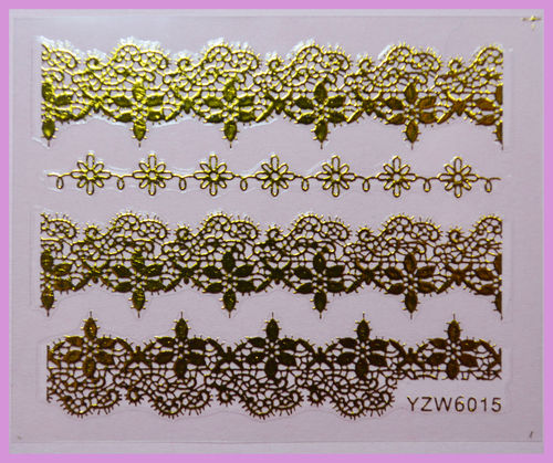 Nailart Sticker gold