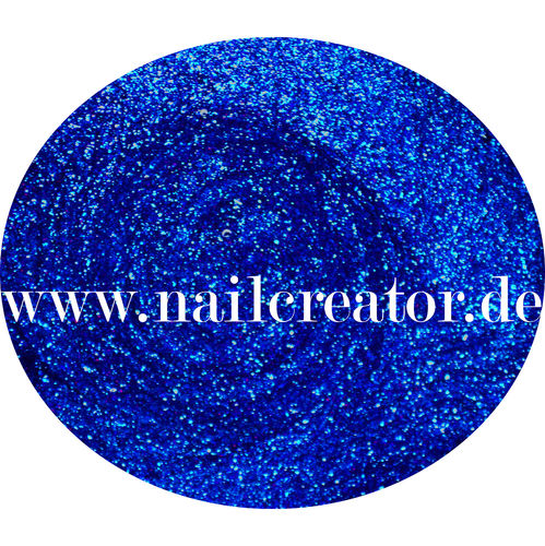 """ Deep blue"" 5ml Glitter Gel"