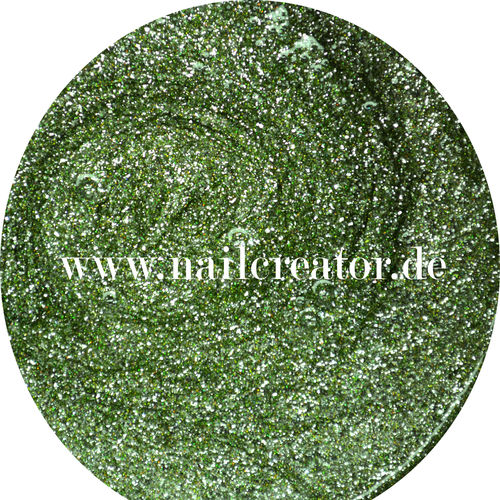 """Light green"" 5ml Glitter Gel"